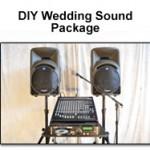 DIY Wedding Sound package